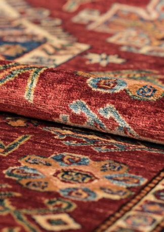 Paklājs Kazak 82095 RED-IVR b