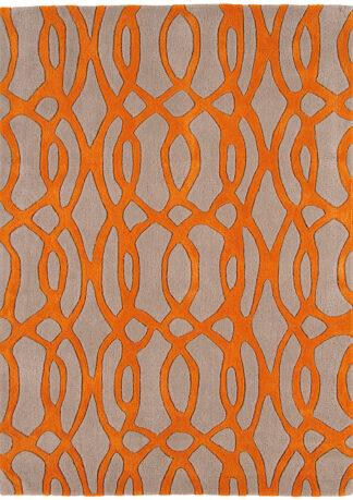 Kilimas Matrix WIRE ORANGE by Asiatic 2